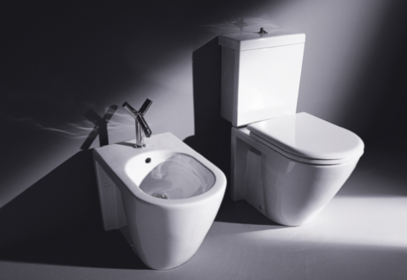 Starck 2 Stand Wc Combination By Duravit Stylepark