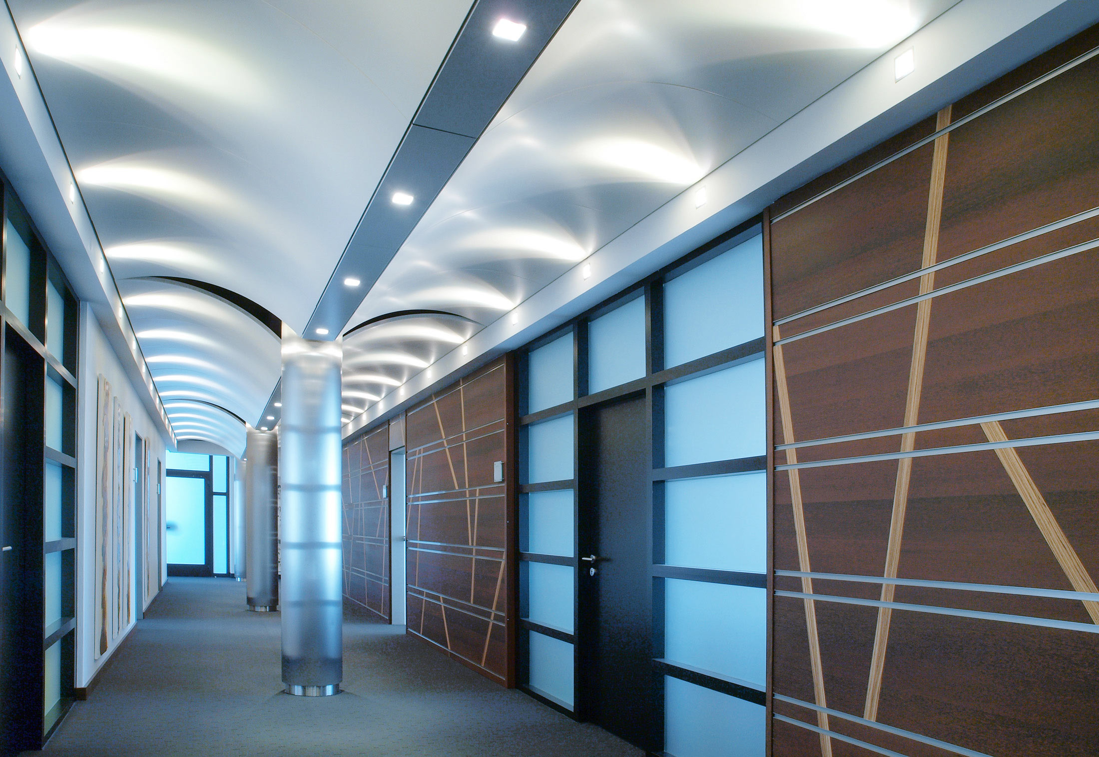 Domus Curved Ceiling System By Durlum Stylepark