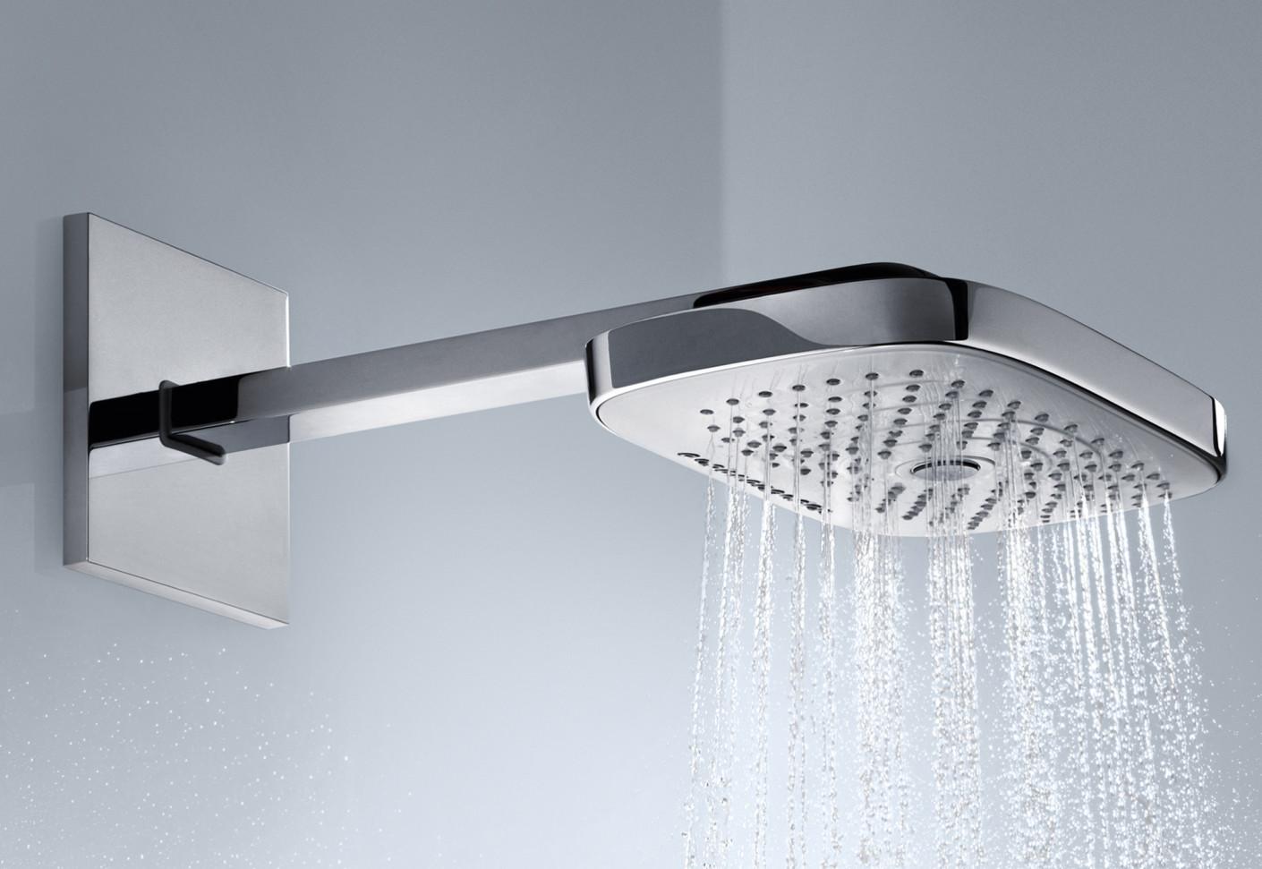 Raindance Select Overhead Showers E300 3jet Wall By