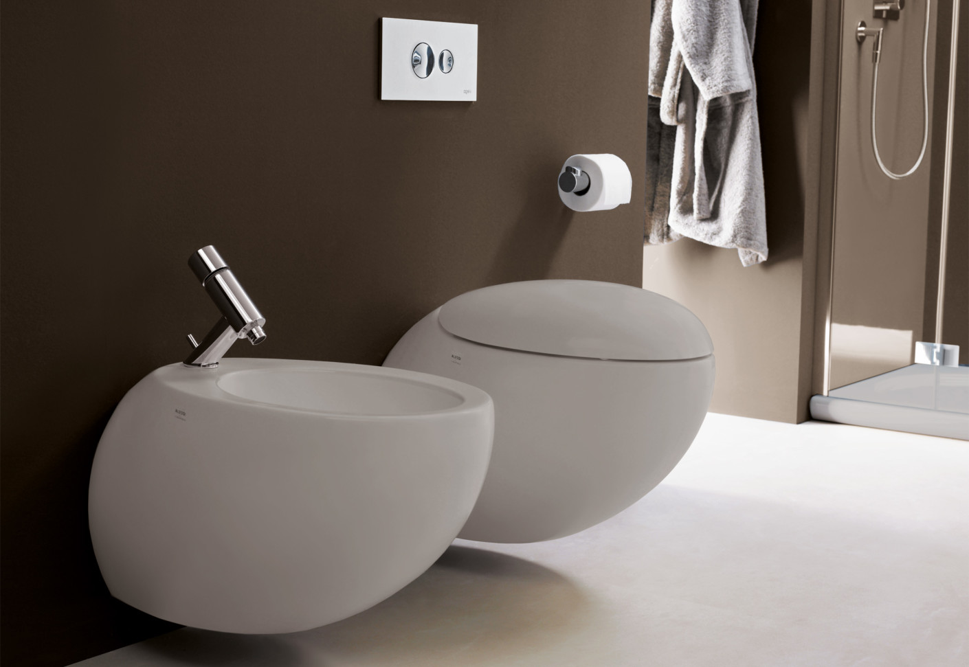 Il Bagno Alessi One Wall Mounted WC By Laufen STYLEPARK
