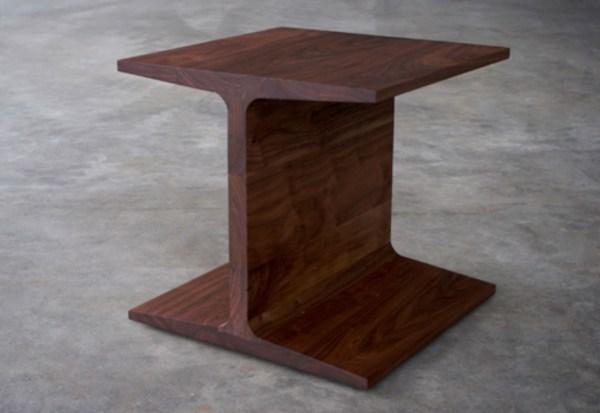 I beam side table by Matthew Hilton | STYLEPARK