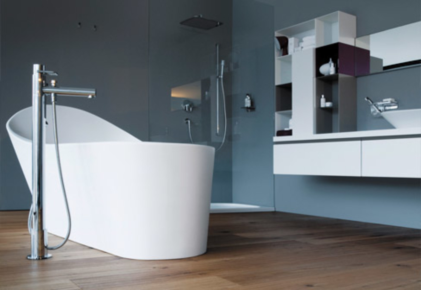 Palomba Freestanding Bathtub By Laufen STYLEPARK