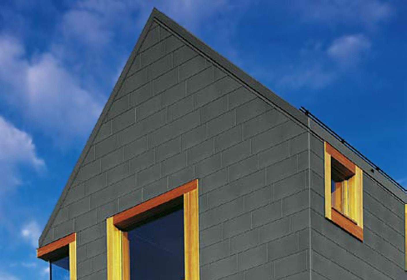 Tile Systems Pre Weathered Pro Graphite Grey By Rheinzink