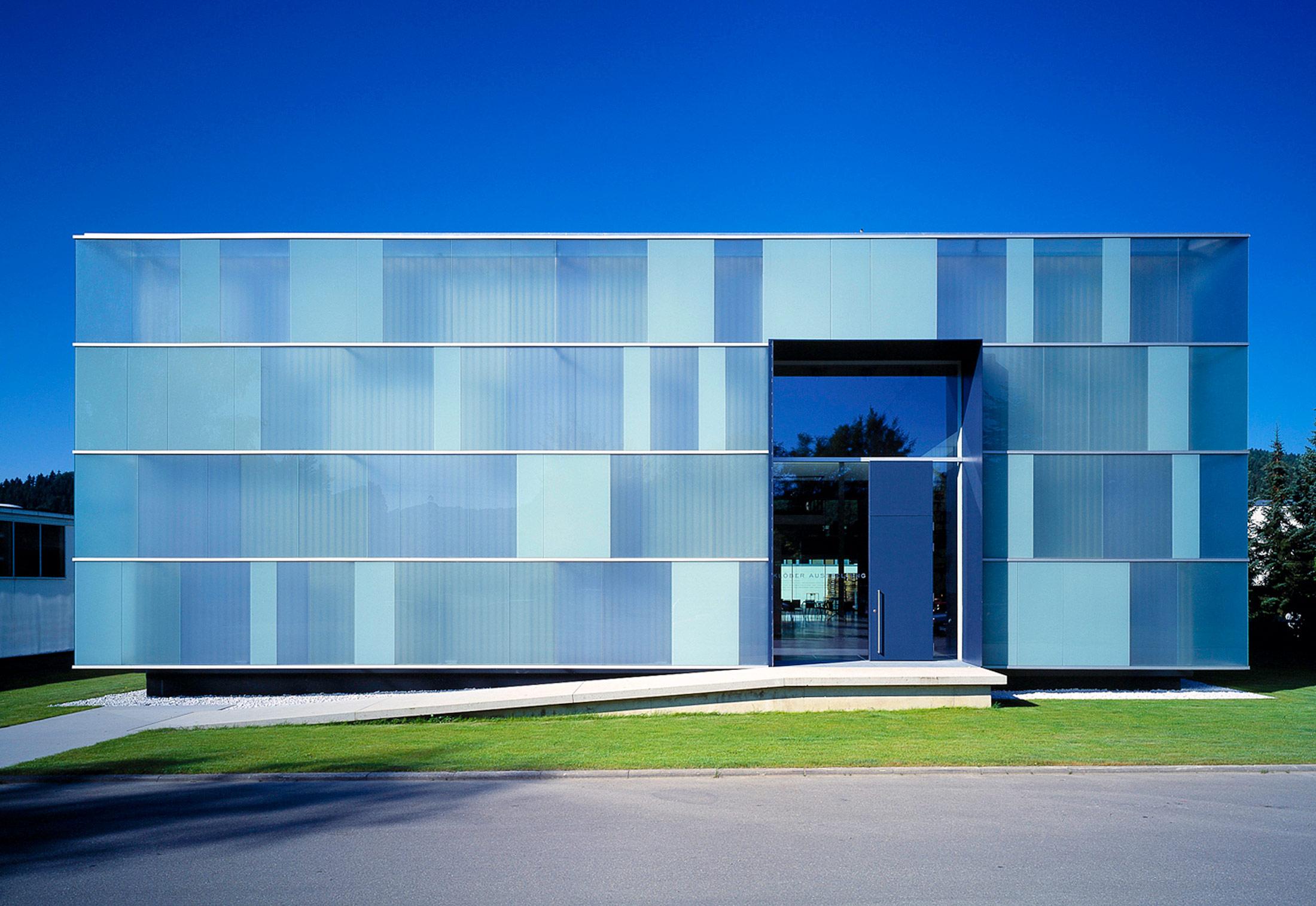 Glass Facade Kl 246 Ber Co Owingen By Sprinz Stylepark