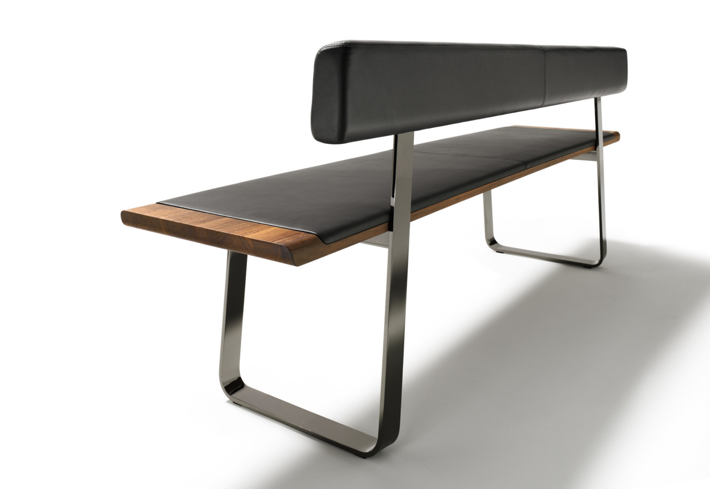 Nox Bench With Backrest By Team 7 Stylepark