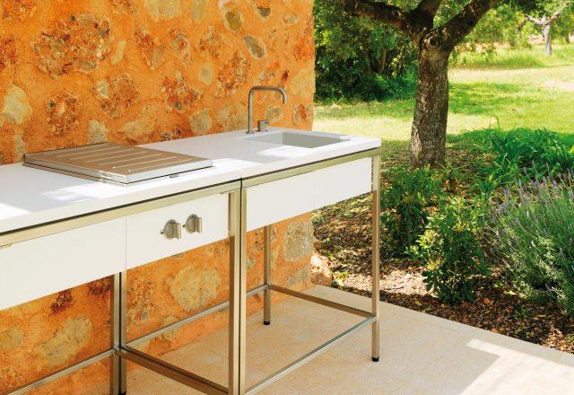 outdoor kitchen sink modulviteo | stylepark