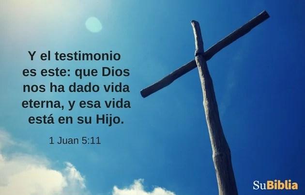 1 Juan 5:11