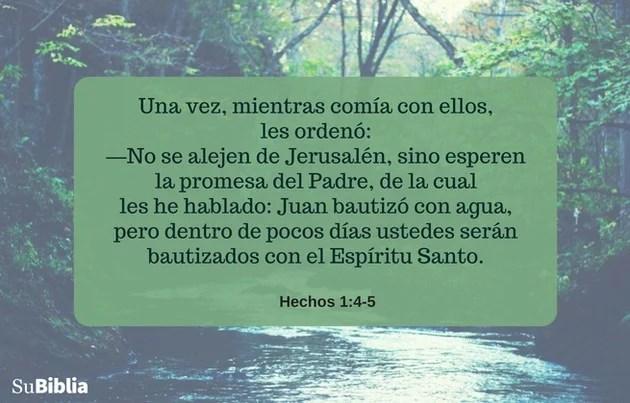 Hechos 1:4-5