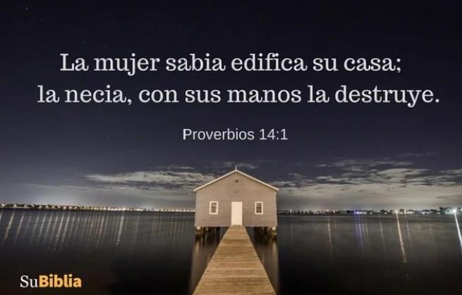 Proverbios 14:1