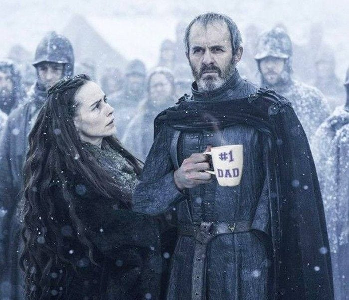 Image result for number one dad game of thrones