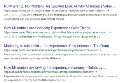Millennial Myths