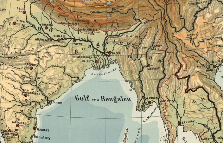 Old Map of Asia 1901  India  China   South East Asia   OLD MAPS AND     Old Map of Asia 1901  India  China   South East Asia   product image
