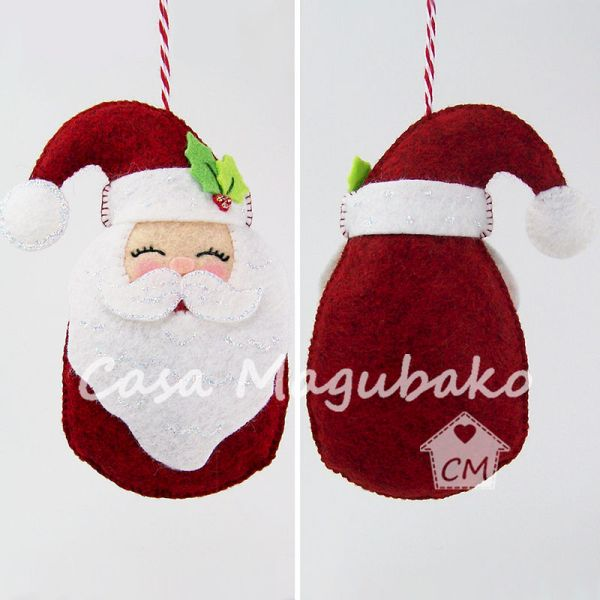 christmas ornaments sewing # 21