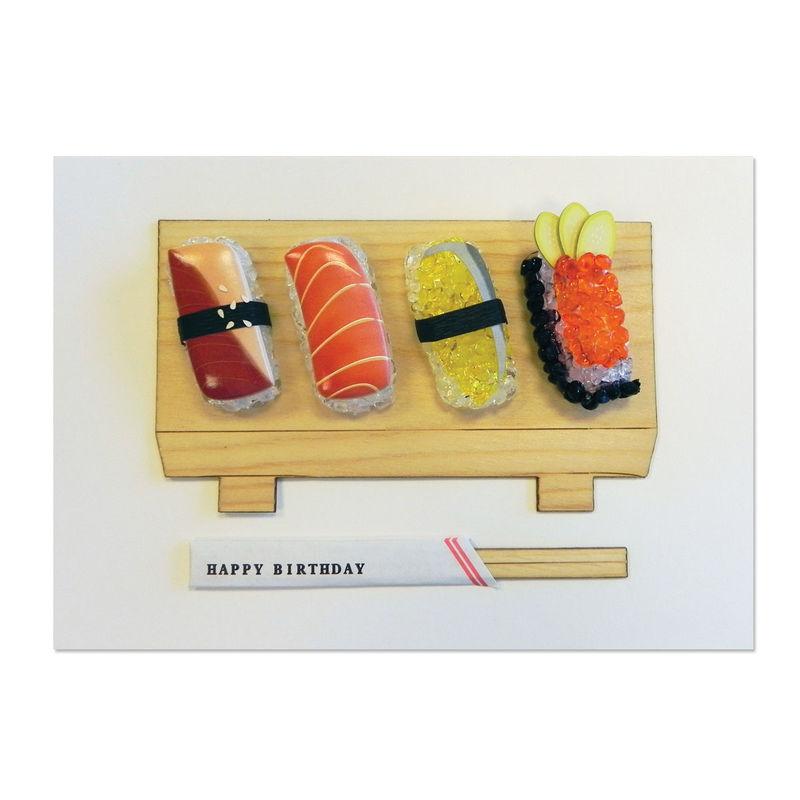 Handmade Sushi Anas Papeterie Greeting Cards