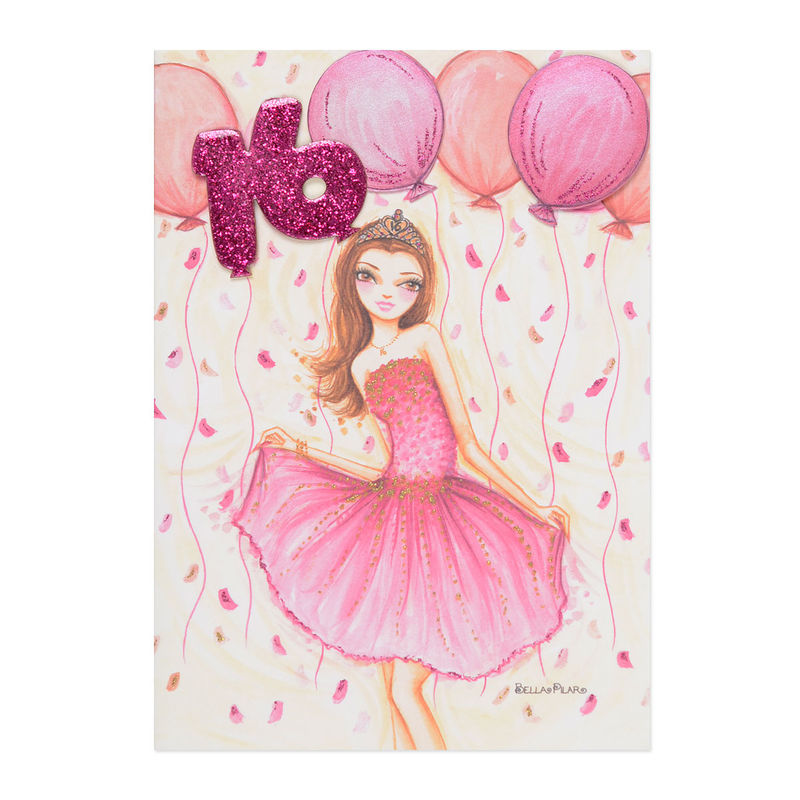 Sweet 16 Dress Anas Papeterie Greeting Cards