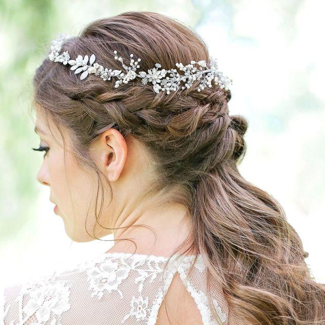 mona crystal hair vine - donna crain accessories