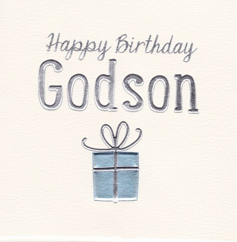 Happy Birthday Godson Birthday Card Karenza Paperie