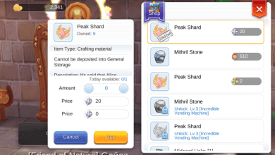 Photo of Peak Shard Untuk Membuka Job 41-70 Ragnarok Mobile Eternal Love