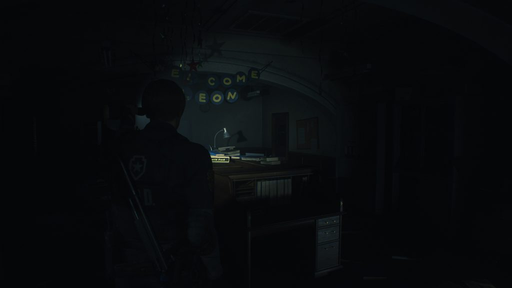 Resident Evil 2: Remake locker codes - Leon's desk