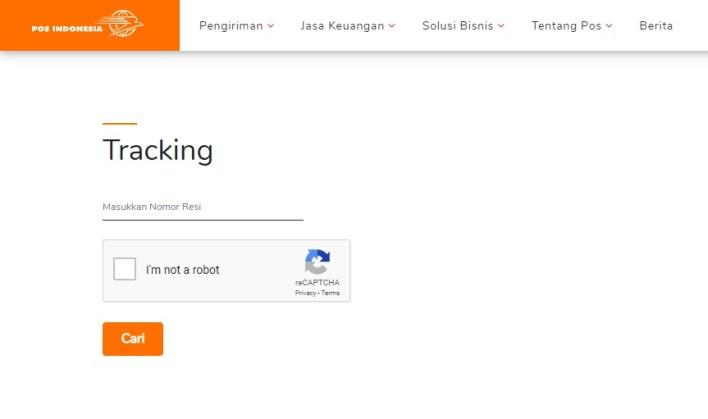 Tracking Resi Pos Indonesia