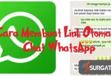 Photo of Cara Membuat Link Otomatis Chat Whatsapp