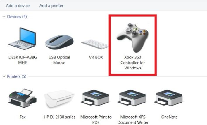 joystick sudah terhubung dengan pc-laptop