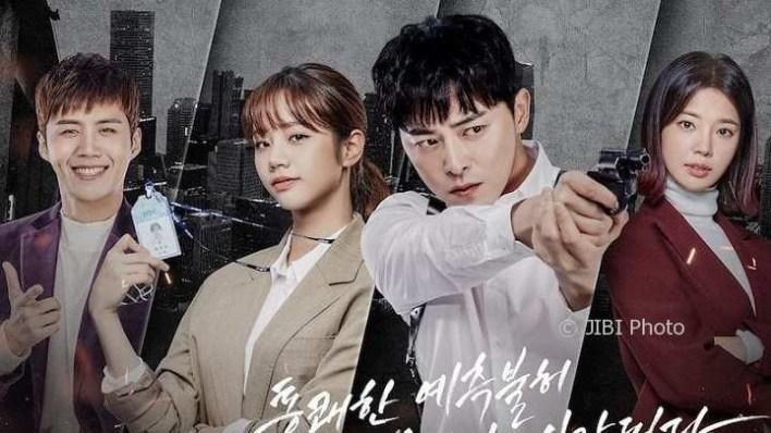 poster drama Korea two cops tentang polisi