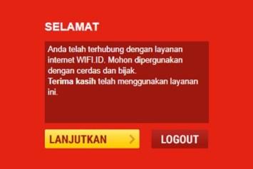 cara logout wifi id dengan mudah