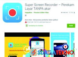 Super Screen Recorder – Perekam Layar
