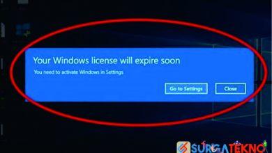 Photo of Cara Mengatasi Your Windows License Will Expire Soon Windows 10