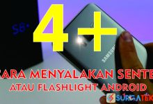 Photo of 5 Cara Menyalakan Lampu Senter/Flashlight Android