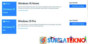 harga license windows 10 resmi