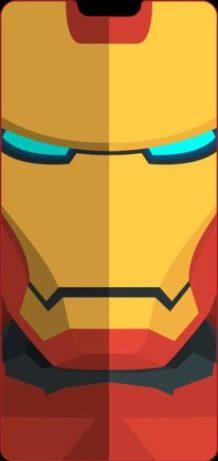 wallpaper tema smartphone poni - iron man