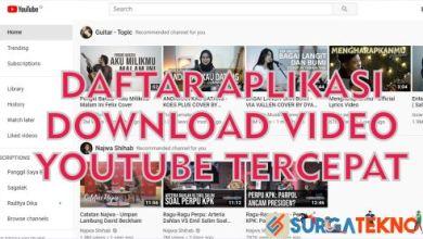 Photo of 10 Aplikasi Download Video YouTube Tercepat