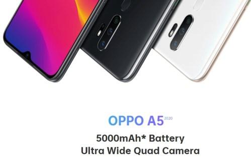 oppo a5 2020 dengan quad camera