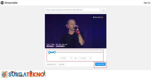 Atur Awal dan Akhir Menit Download Video
