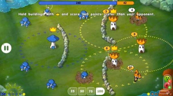 Mushroom Wars Space!