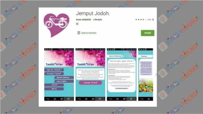 Aplikasi Cari Jodoh Android - Jemput Jodoh