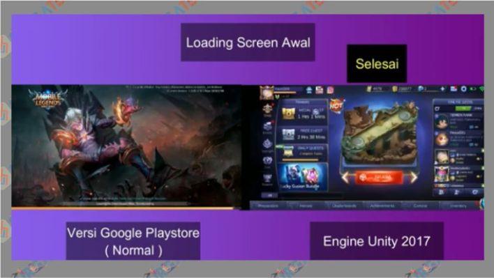Loading Game Mobile Legends Lebih Cepat