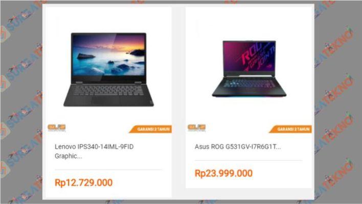 Beli Laptop yang Sesuai Budget