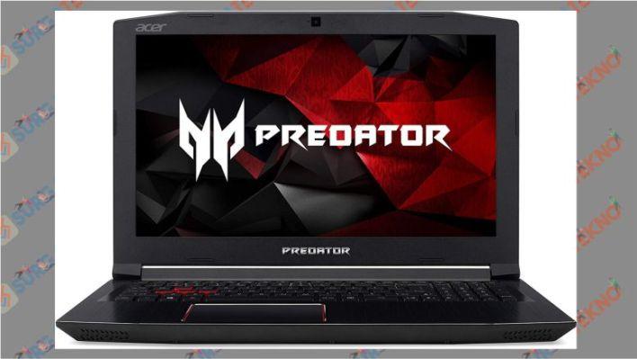 Tampilan Laptop Acer Predator Helios 300