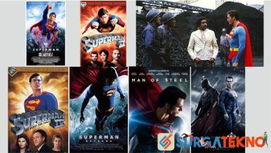 Photo of Urutan Film Superman, Mulai Pertama sampai Terbaru