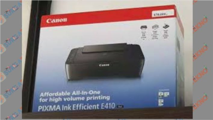 Printer All in One - Canon Pixma E410