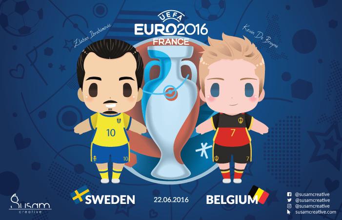 Euro 2016 Mascot Chibis Case Study 3