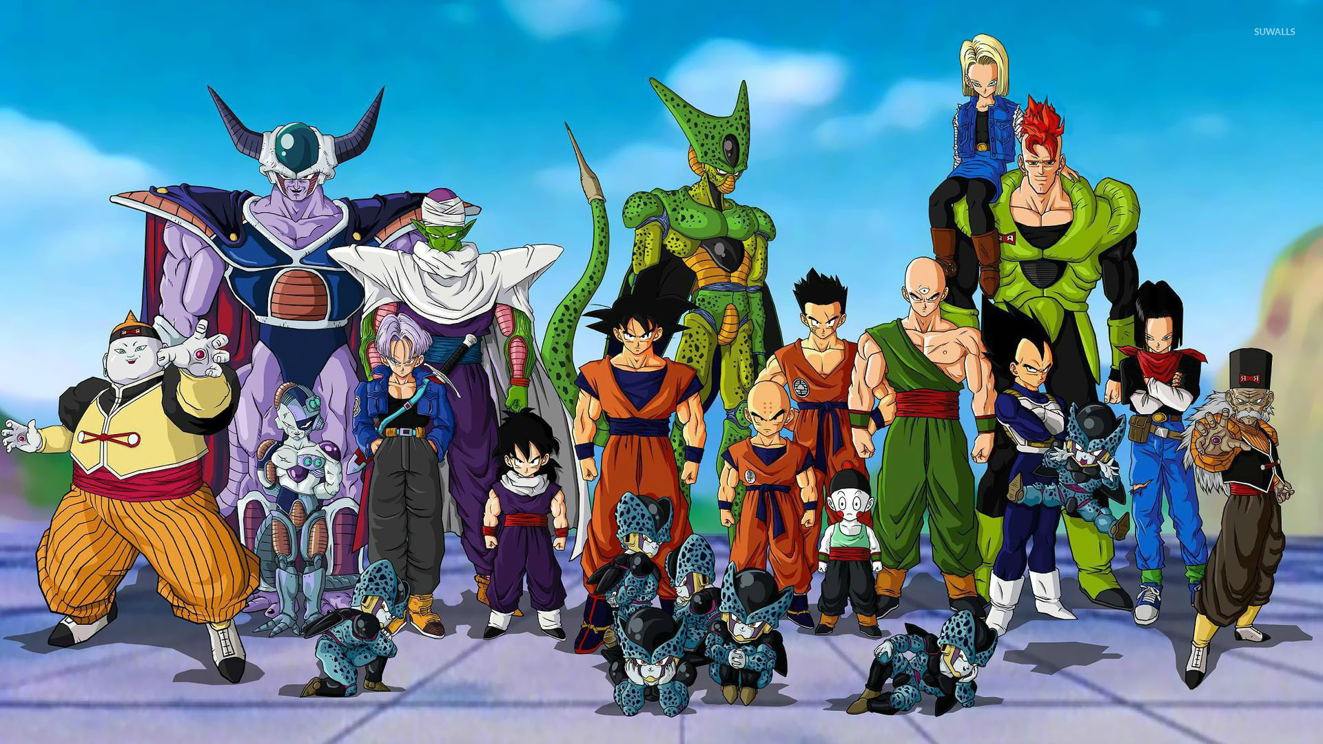 Share the best gifs now >>> Dragon Ball Z 4 wallpaper - Anime wallpapers - #16145