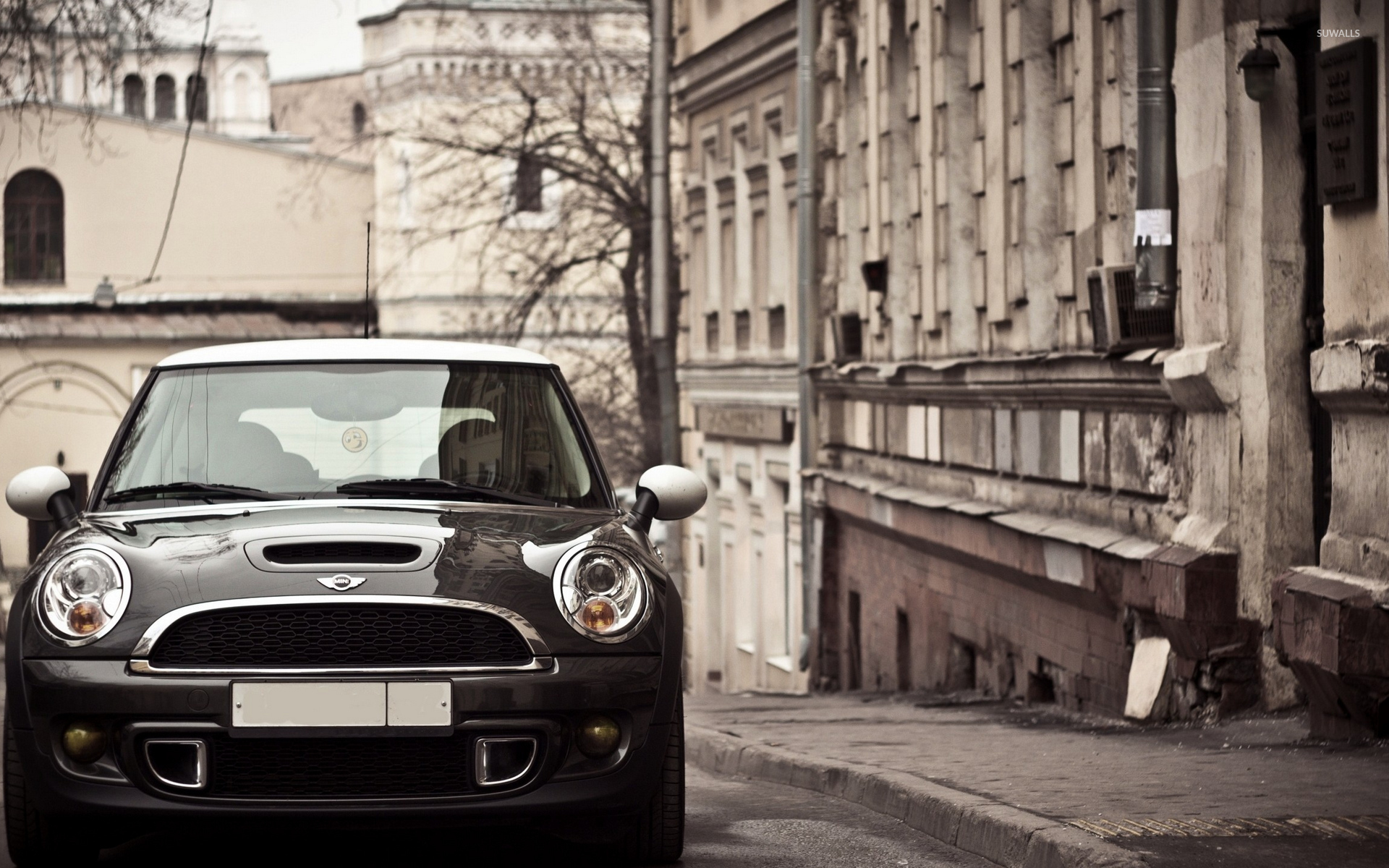 MINI Cooper S On The Street Wallpaper Car Wallpapers