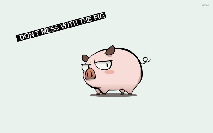 funny pig wallpaper siewalls co