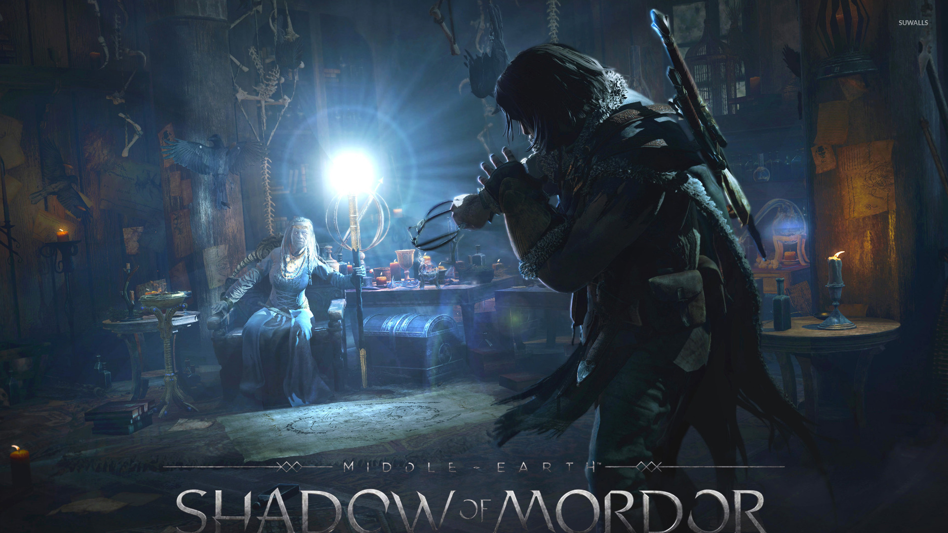 Middle Earth Shadow Of Mordor Wallpaper Game Wallpapers