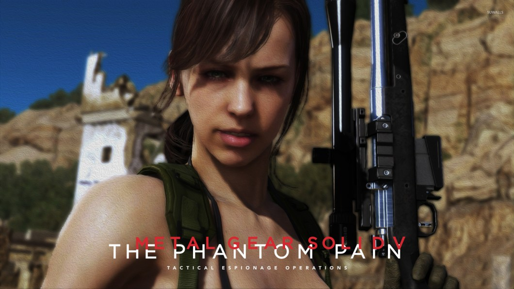 Quiet Metal Gear Solid V The Phantom Pain Wallpaper 1920x1080 Jpg Wallpapers