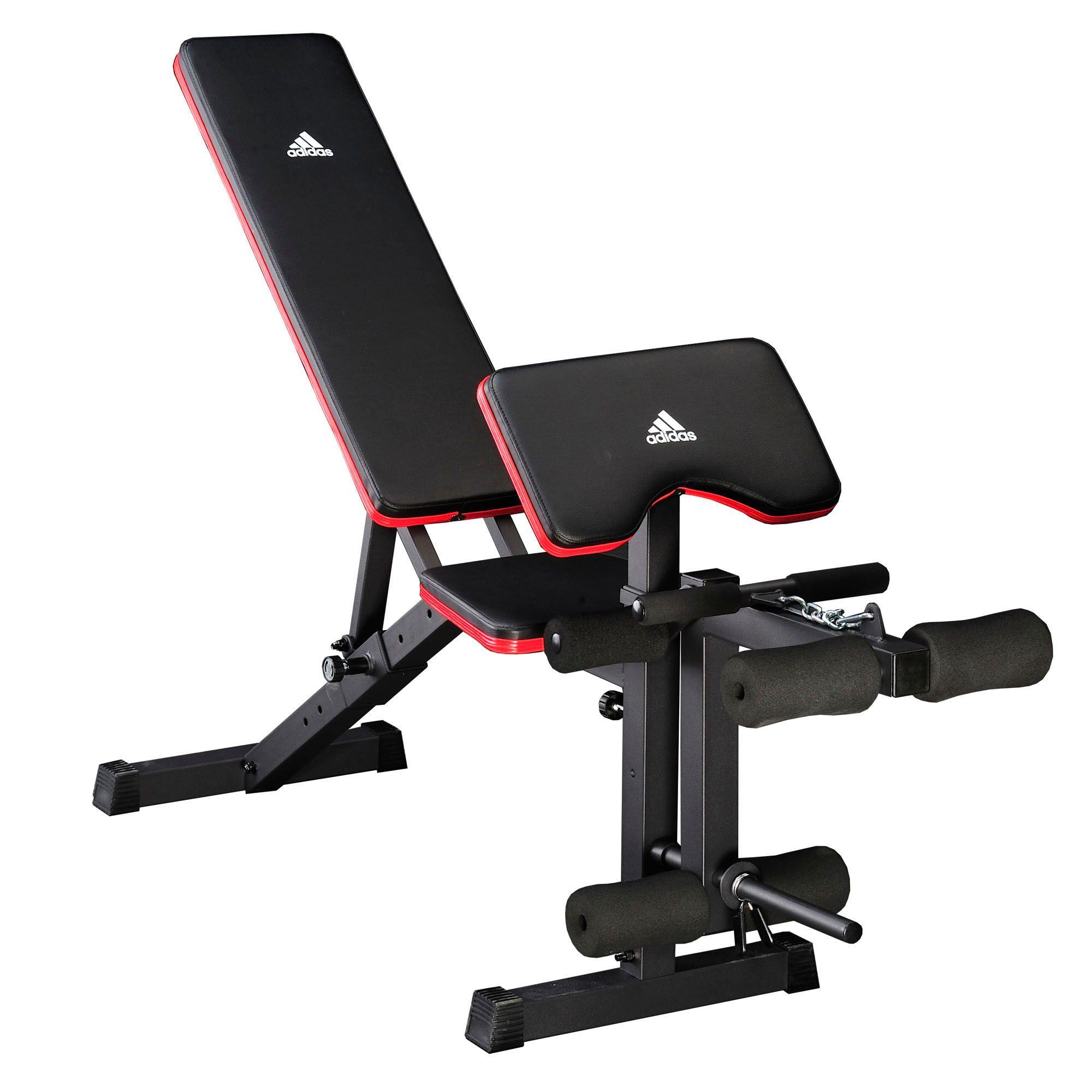 Adidas Essential Weight Bench And Viavito 50kg Cast Iron